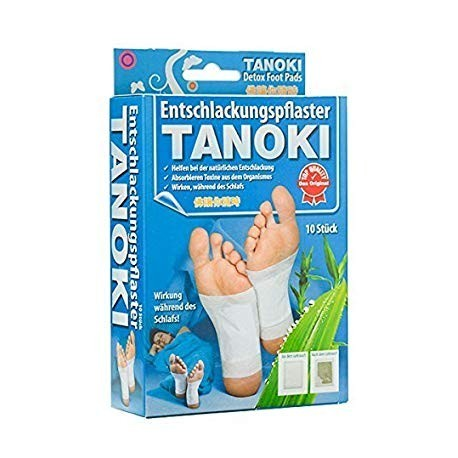 10x TANOKI  Super Gold Detox Pleisters
