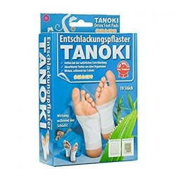 30x TANOKI  Super Gold Detox Pleisters
